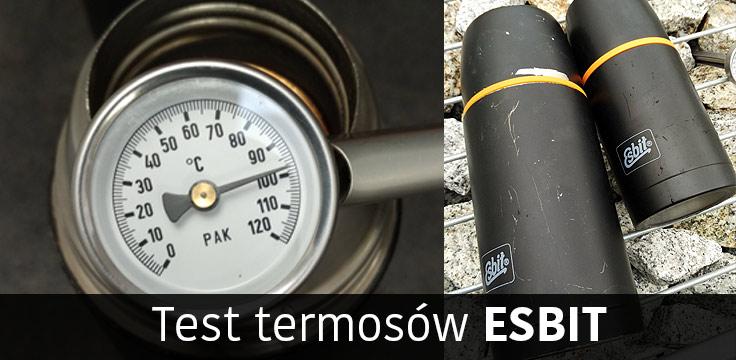 Termosy Esbit – testy w terenie