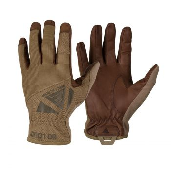 Direct Action Light Gloves Leather Coyote Brown (GL-LGHT-GLT-CBR)
