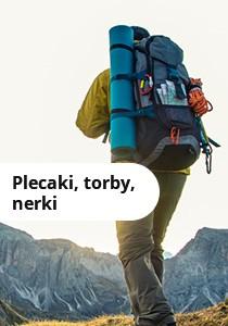 Plecaki, torby, nerki